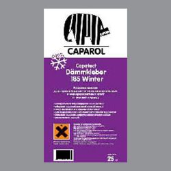 capatect dämmkleber 185 winter сухие смеси для монтажа теплоизоляции